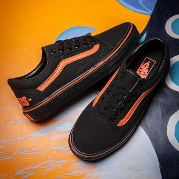 VANS x VLONE Canvas Old Skool Flats Sneakers Sport Shoes