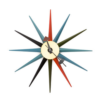 Sol Sunburst Wall Clock