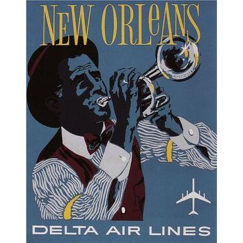 New Orleans Poster 27inx40in