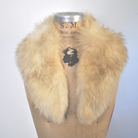 Fox Fur Collar / genuine