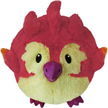 Squishable Fiery Phoenix: An Adorable Fuzzy Plush to Snurfle and Squeeze!