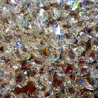 Hanging Pure First Quality  Crystal 50 Ft, Manzanita tree Crystal Garlands, Crystal for backdrop