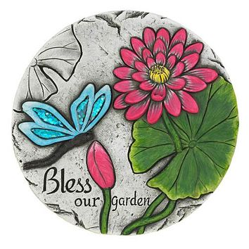6 Bless Our Garden Butterfly Stones