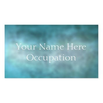 Professional Soft Blue Grunge Business Card