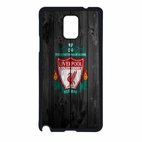 Liverpool FC Wood Style Samsung Galaxy Note 4 Case