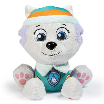 Patrol Puppy Everest Dog Plush Anime Patrol Dog Stuffed Plush Toys Doll Figures Toy Juguetes Patrulla Canina Toy Gift for Kids