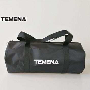 DCCK7N3 TEMENA High Quality Cylindrical Sports Bag For Gym Mulifunctional Duffel Shoulder Fitness Bags Gym Bags Bolsa De Deporte