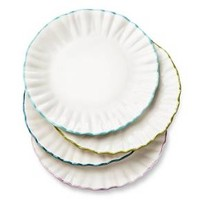 Boho Boutique Isabella Ruffle Salad Plate - Set of 4 : Target