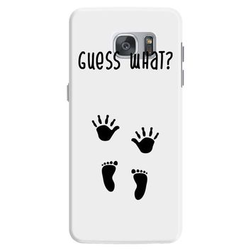 Guess What Baby Inside Pregnancy Announcement Samsung Galaxy S7