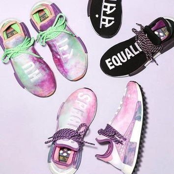 Adidas Human Race NMD Male and female fashion sneakers shoes