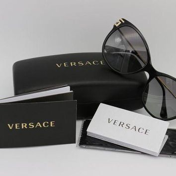 DCCKNY1 NEW VERSACE BLACK SUNGLASSES MOD 4316-B