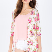 In Bloom Floral Cardigan