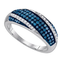 Diamond Fashion Ring in Sterling Silver 0.45 ctw