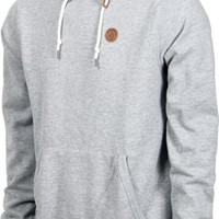 Volcom Single Stone Hoodie - heather grey - Free Shipping