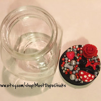 Mini Mouse Stash Jar