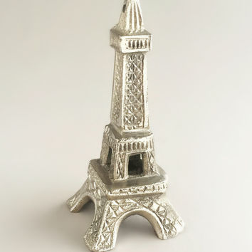 Small Silver Eiffel Tower