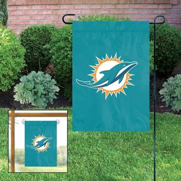 DCCKG8Q NFL Miami Dolphins Garden/Window Flag
