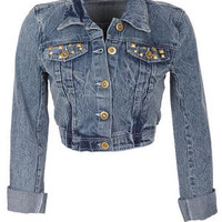 Studded Pocket Denim Jacket