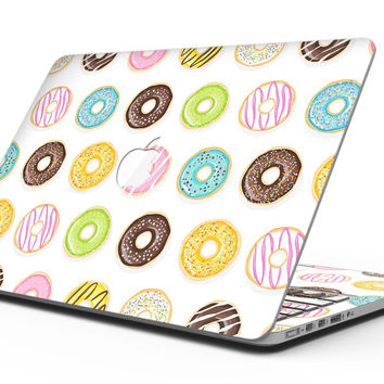 Yummy Colored Donuts - MacBook Pro with Retina Display Full-Coverage Skin Kit