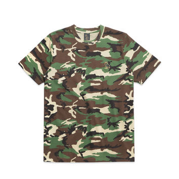OWL LOGO PATCH TEE - CAMO