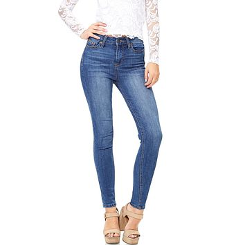 West Bound High Waist Ankle Skinnys