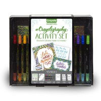 Crayola Signature Crayoligraphy Calligraphy Art Set Hand Lettering Tutorials Crafts Kit Gift