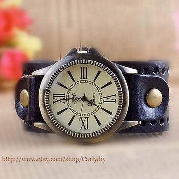 Ancient Rome watches, leather watches, men's and women's fashion watch