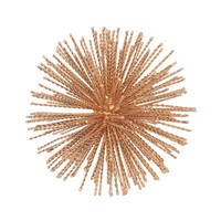 Benzara 46101 Appealing Starburst Orb Rope wire Decor