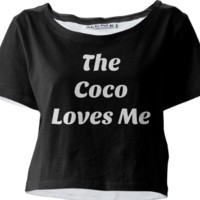 The Coco Loves Me Tee created by trilogy-anonymous | Print All Over Me