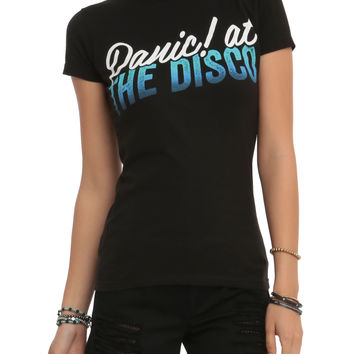 Panic! At The Disco Ombre Logo Girls T-Shirt