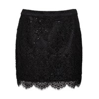 Nada Embellished Lace Skirt - Forever New