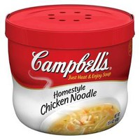 Campbell's® Homestyle™ Chicken Noodle Soup Microwaveable Bowl 15.4 oz