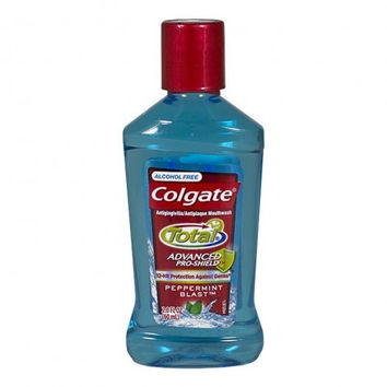 Colgate Total Alcohol Free Mouthwash, 2.0 oz
