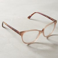 Materia Reading Glasses by Anthropologie in Nude Size: