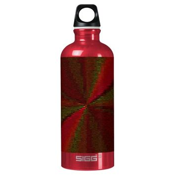 Red and Green Circular Patchwork Array SIGG Traveler 0.6L Water Bottle