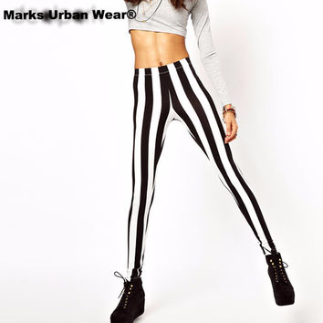Black and White Spandex Zebra Print