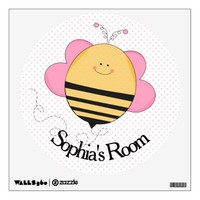 Bumble Bee Wall Sticker