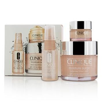 Clinique Moisture Surge Set: Moisture Surge 125ml + All About Eyes 15ml + Moisture Surge Face Spray Thirsty Skin Relief 30ml Skincare