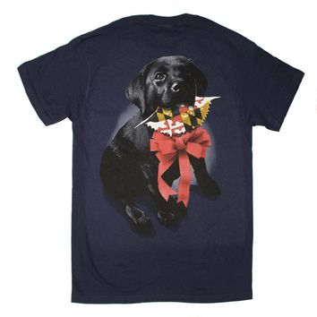 Christmas Black Lab (Sport Dark Navy) / Shirt