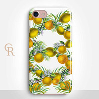 Lemon Phone Case Case For iPhone 8 iPhone 8 Plus - iPhone X - iPhone 7 Plus - iPhone 6 - iPhone 6S - iPhone SE - Samsung S8 Lemonade