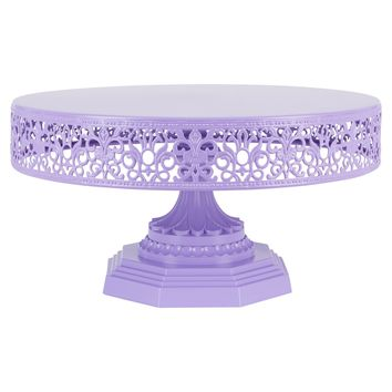"""12"""" Metal Wedding Cake Stand 