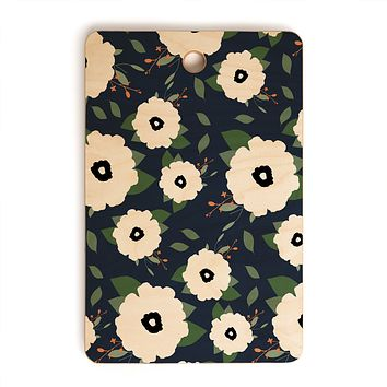 Allyson Johnson Floral Class Cutting Board Rectangle