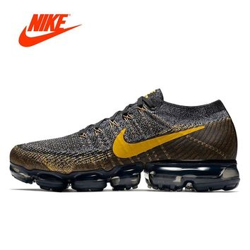 Original New Arrival Authentic Nike Air VaporMax Flyknit Men's Running Shoes Sport Outdoor Sneakers Good Quality 849558-009