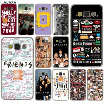 Lavaza Friends FUNNY TV show poster Hard Case for Samsung Galaxy S9 S8 Plus S3 S4 S5 S6 S7 Edge S9 Plus Phone Cover