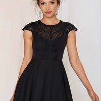 Midnight Wanderer Fit & Flare Dress