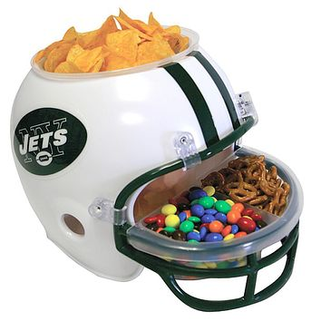 New York Jets - Logo Snack Helmet