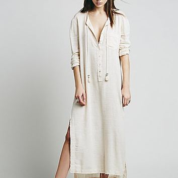 Free People Womens Knock Him Down Shirt Dress