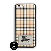 Burberry London Pattern iPhone 6 Plus Case