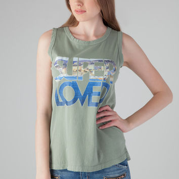 Current/Elliott The Muscle Tank in Sea Forest Love Yacht