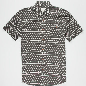 Lira Trinidad Mens Shirt Black  In Sizes